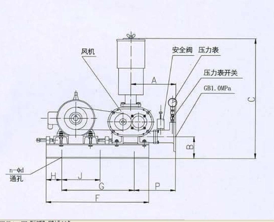 鼓风机结构调整以及用途